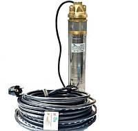 Центробежный насос WATERS 4SKM-100 кабель и трос 60 метров + пульт + обратный клапан