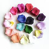 Лепестки роз. Около 150 шт. 24 г. Цвет пурпурный., фото 2