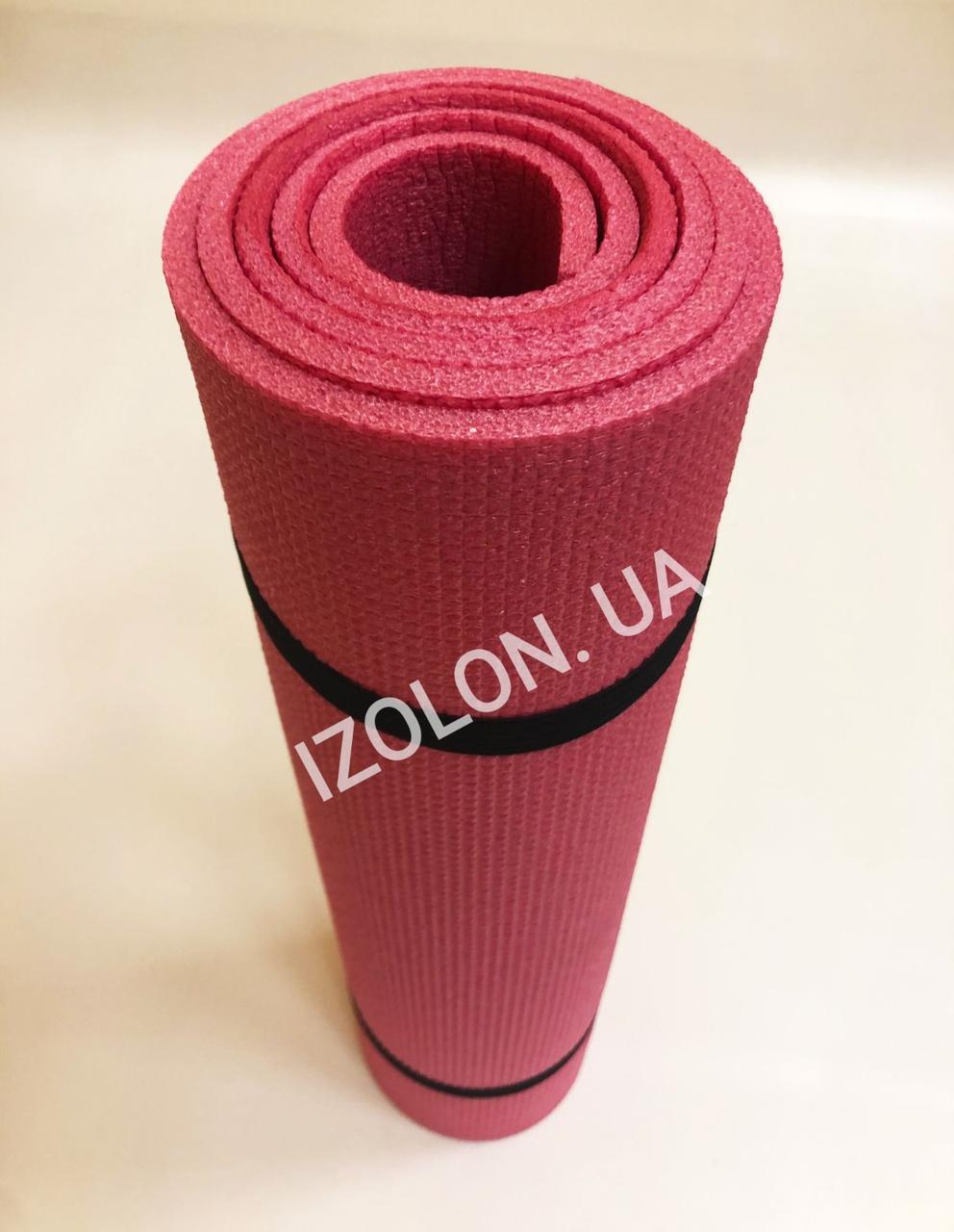 Коврик IZOLON Привал 8, цвета красный, фиолетовый, желтый, 1800 х 600 х 8 мм