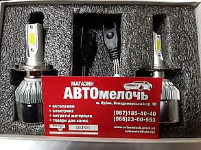 Лампа LED вентилятор H7 12-24V 6000K к-т