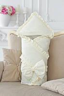 Детский летний конверт одеяло на выписку для новорожденного