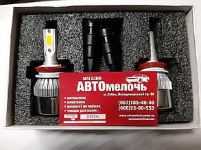 Лампа LED вентилятор H11 12-24V 6000K 3200Lm к-т