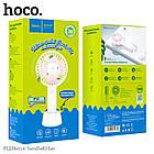 Портативний Вентилятор HOCO Heroic handheld fan F12, білий, фото 8