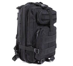 Рюкзак військовий тактичний штурмової Molle Assault 20L Black