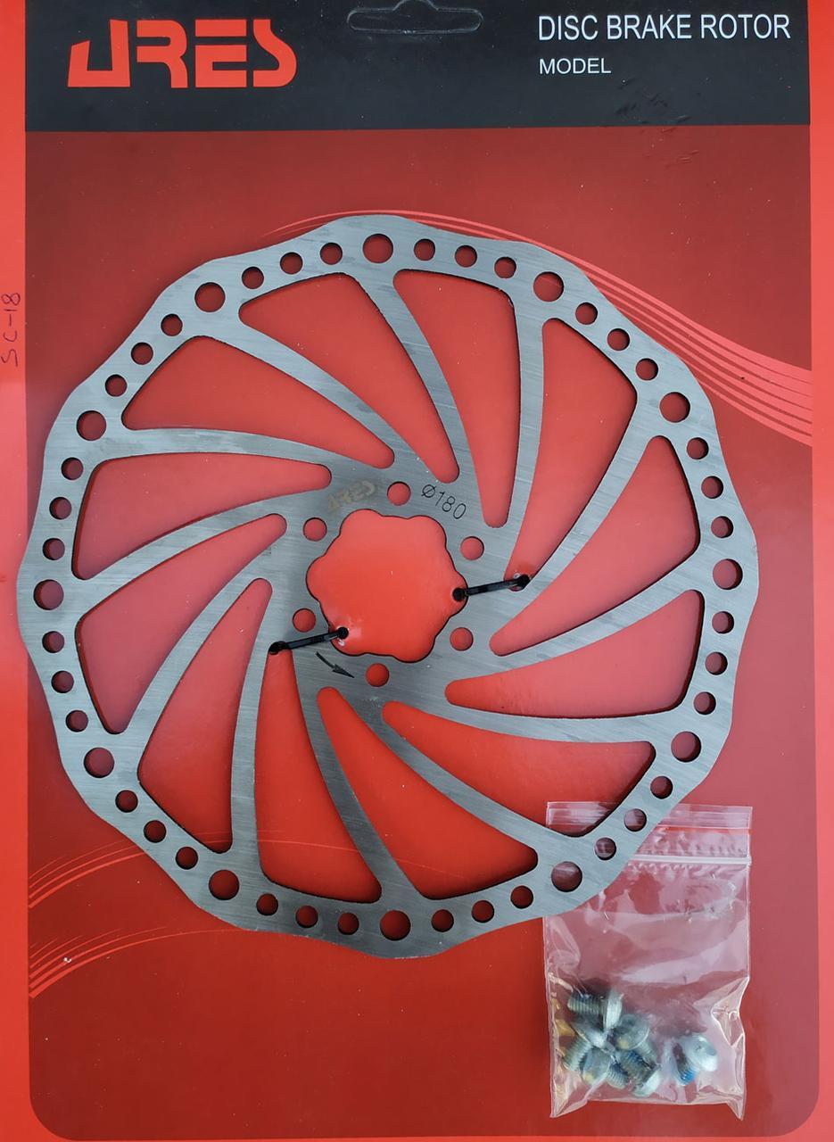 Ротор тормозной Ares SC18, 180 mm.
