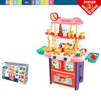 Игровой набор Кухня 8765AB-1 Розовый
