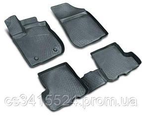 Коврики полиуретановые для Citroen Jumper (2006-) передние 3D (пара) (Lada Locker)