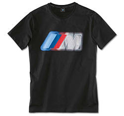 Чоловіча футболка BMW M Colour Logo T-Shirt, Men, Black (80142466256)
