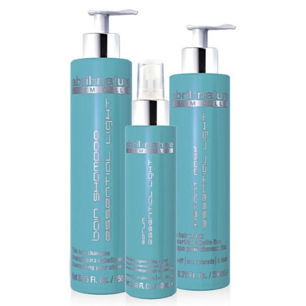 Набір засобів для тонкого волосся Abril Et Nature Cell Essential Light (Шампунь 250мл+маска 200мл+сыв-ка 100 мл)