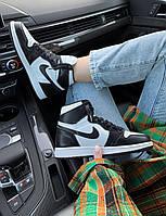 Женские кроссовки Nike Air Jordan 1 Retro \ Найк Аир Джордан 1 Ретро \ Жіночі кросівки Найк Аір Джордан 1