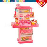 Детская игровая кухня 777-8-9-1 Розовый