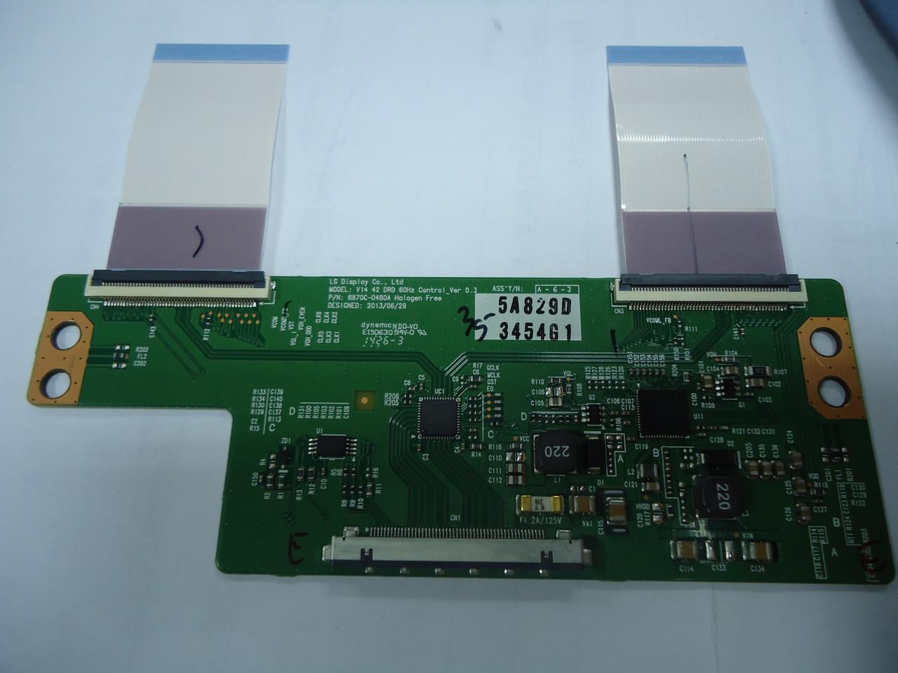 Плата T-CON LG V14 42 DRD, 6870C-0480A