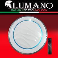Светильник смарт LED с пультом 3 режима 3000-4000-6500K 80W CATANIA круг ТМ LUMANO (12 мес. гарантии), фото 1