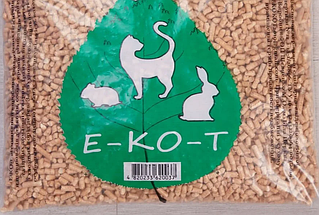 Наповнювач туалетів Е-КО-Т 1 кг (біла гранула)