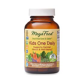 Детские ежедневные витамины Kids One Daily, MegaFood, 30 таблеток