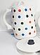 Электрический керамический чайник экологичный электрочайник 2л, фото 4