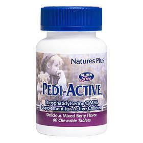 Добавка для Активних Дітей (Фосфатидилсерин і DMAE), nature's Plus, 60 Жувальних Таблеток