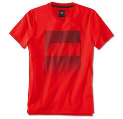 Чоловіча футболка BMW M Logo T-Shirt, Men, Red, артикул 80142466286
