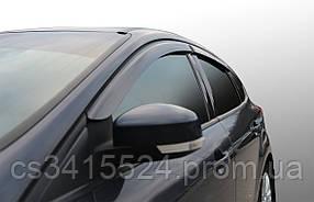 Дефлекторы на боковые стекла Citroen Berlingo II 3d 2009/P Partner II 3d 2009 VL-tuning