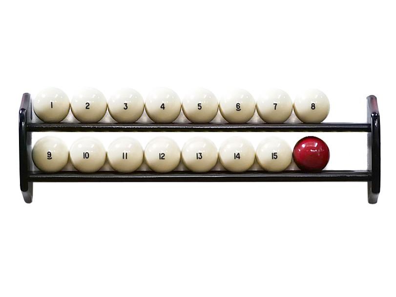 Полка настенная для шаров из дерева