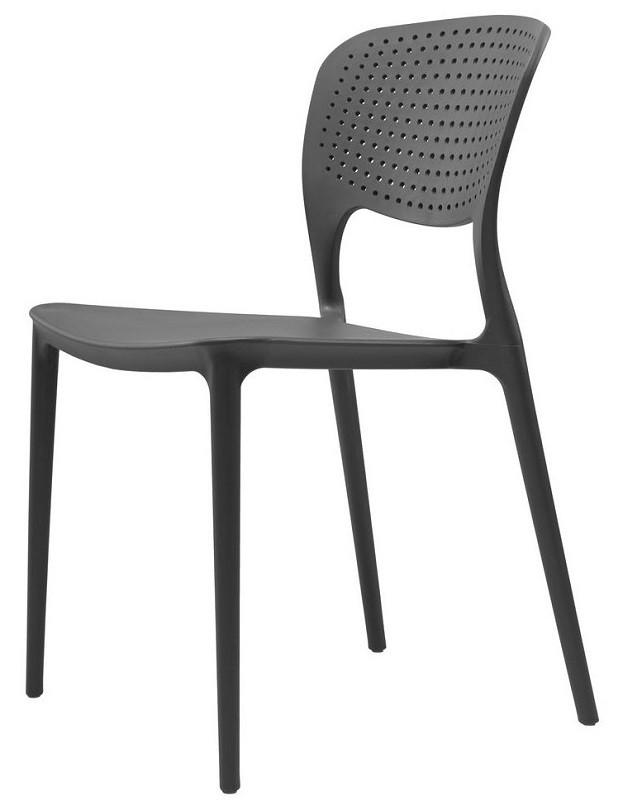 Стул Spark серый графит (110328) пластик Concepto