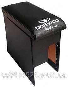 Подлокотник Daewoo Nubira 1997-2004 (с вышивкой)