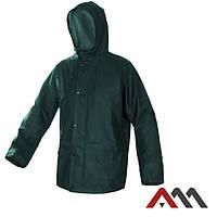 Непромокаемая куртка с капюшоном Artmas KPR-PU, зеленый, L