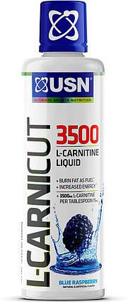 Л-карнитин USN L-Carnicut 3500 мг 450 мл (30 порц.), фото 2