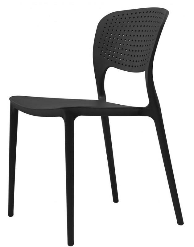 Стул Spark черный (111502) пластик Concepto