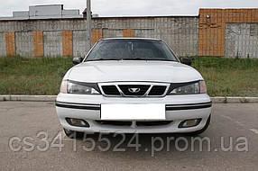 Реснички на фары Daewoo Nexia 1 1995-2008  Spirit (на скотче 3М)