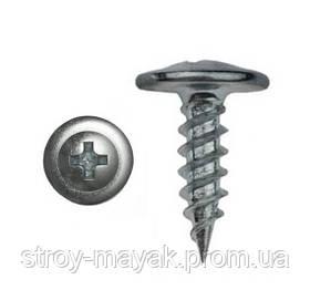 Саморез по металлу с пресс-шайбой острые 4,2х19 100 шт