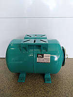 Гидроаккумулятор водоснабжения EUROAQUA 24 л горизонтальный