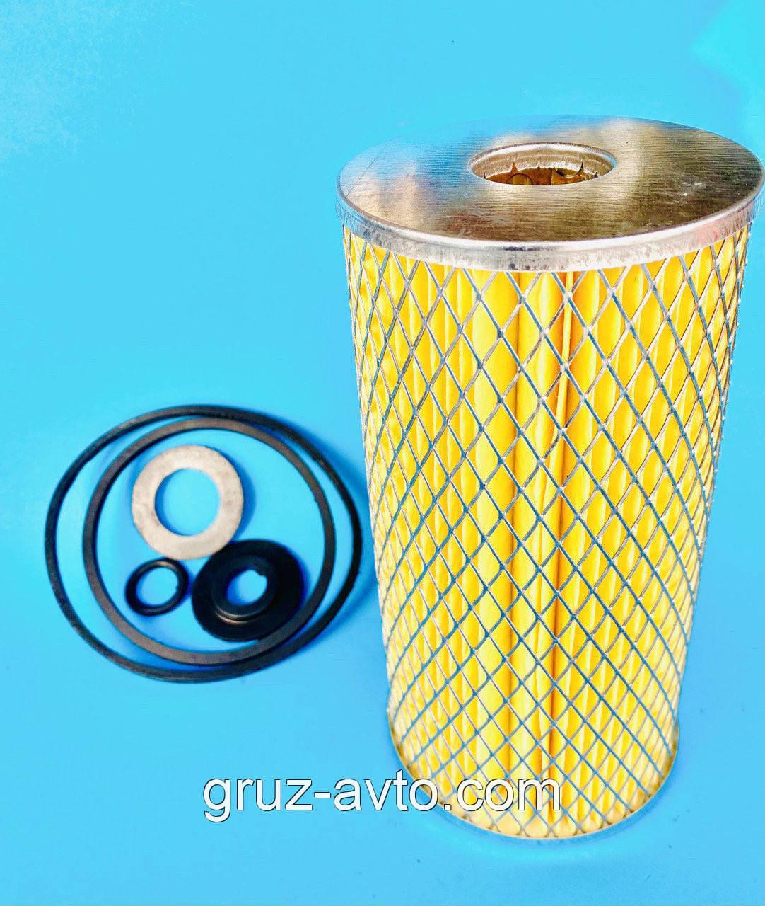 Фильтрующий масляный элемент ГАЗ-53 3307 с комплектом уплотнений ГАЗ-53