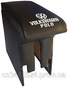 Подлокотник VolksWagen Polo 2001-2009 (с вышивкой)