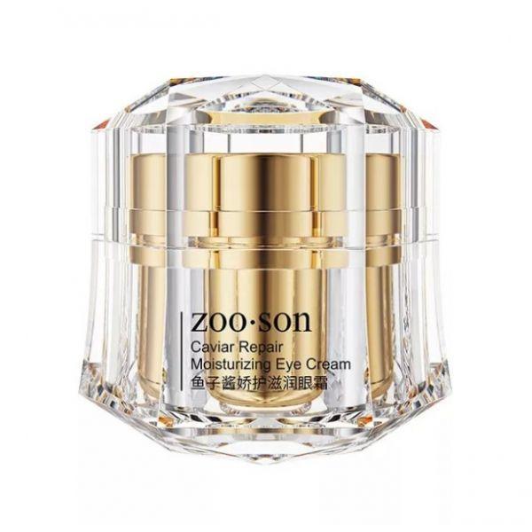 Омолаживающий крем для кожи вокруг глаз ZOO:SON CAVIAR REPAIR MOISTURIZING EYE CREAM с олигопептидами,