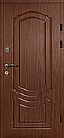 Двери входные металлические Булат К4 850*2050/950*2050 101 орех темный