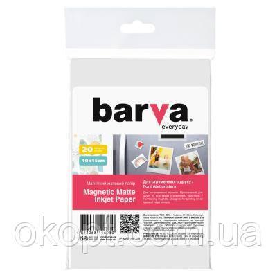Бумага BARVA 10x15 Everyday Matte 20л (IP-MAG-AE-334)