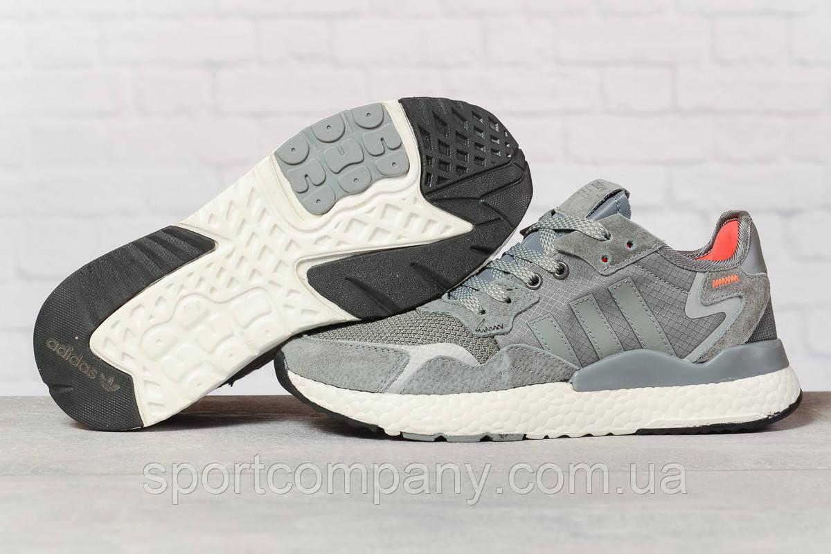Кроссовки мужские 17299, Adidas 3M, темно-серые, [ 41 42 44 45 ] р. 41-25,2см.