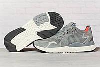 Кроссовки мужские 17299, Adidas 3M, темно-серые, [ 41 42 44 45 ] р. 41-25,2см., фото 1