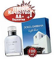 Dolce gabbana Light Blue Living Stromboli Люкс качество АА++  Дольче Энд Габбана Лайт Блу Ливин Стромболи