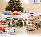 Игрушечная железная дорога деревянная PlayTive Junior 114 елементов, фото 7