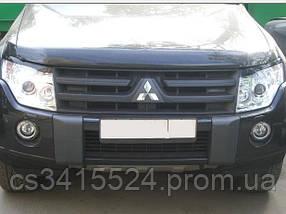 Реснички на фары Mitsubishi Pajero Wagon 2006  Spirit (на скотче 3М)