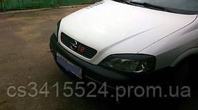 Реснички на фары Opel Astra G Classic 1998  Spirit (на скотче 3М)