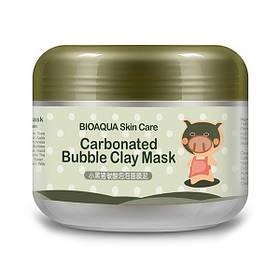 Маска для лица Bioaqua Carbonated Bubble Clay Mask 100гр