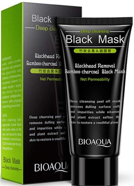 Маска-пленка Bioaqua для удаления черных точек Bioaqua Deep Cleansing Black Mask 60 мл