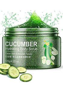 Пілінг-скраб для тіла з огірком Bioaqua Cucumber 120 мл