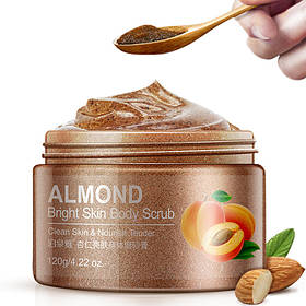 Скраб для тела с абрикосом и миндалем Bioaqua Skin Body Scrub 120 мл