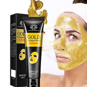 Маска-плівка для шкіри з золотом і колагеном Images Gold Collagen Mask 60 мл