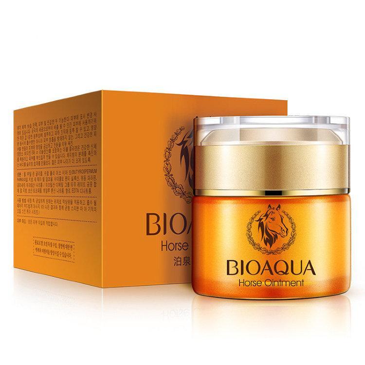 Увлажняющий крем для лица с конским жиром Bioaqua Horse Ointment 50 мл