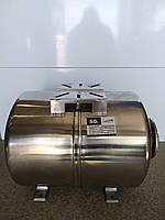 Гидроаккумулятор водоснабжения 50л EUROAQUA горизонтальный нержавейка, фото 1